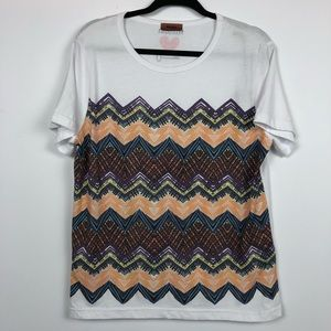 "NWT Missoni ""Key To The Cure"" Limited Edition Tee"